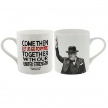 Words of Winston Mug Let Us Go