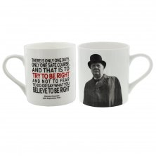 Words of Winston Mug Try to be Right