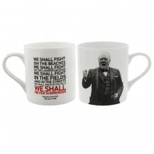 Words of Winston Mug We Shall Never