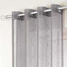 Silver Boston Eyelet Voile Panels