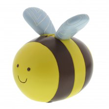 Kiddiwinks Yellow Bumble Bee Resin Money Box