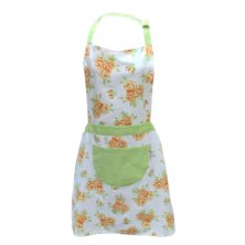 Russet Rose Cotton Apron