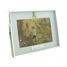 Bambino Silverplated Photo Frame - Grandchildren