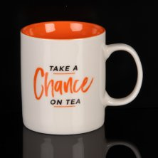 Harvey Makin Musicology Mug Take A Chance on Tea