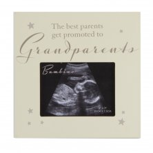 "Bambino MDF Scan Frame ""The Best Grandparents """