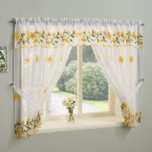 Daisy Yellow Window Set