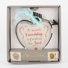 Art A Gram Heart Plaque Friendship