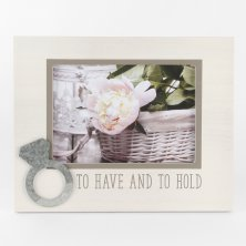 New View 'To Have And To Hold' Photo Frame