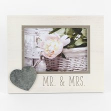 New View 'Mr & Mrs' Photo Frame