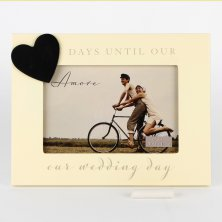 Amore Countdown to Wedding Photo Frame