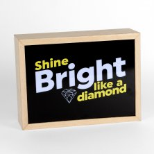 Musicology Lightbox - Shine Bright Like a Diamond