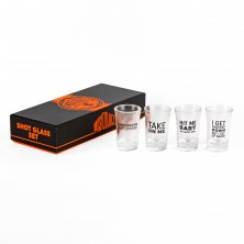 Musicology Set of 4 Shot Glasses