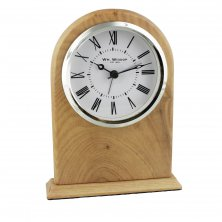 Widdop Wooden Arched Mantel Clock