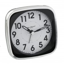 Widdop Square Silent Sweep Alarm Clock