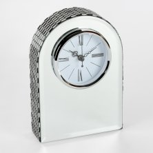 Hestia Glass Arched Mantel Clock