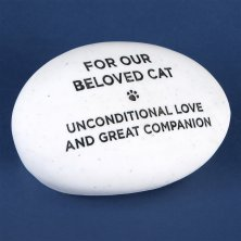 RSPCA Graveside Memorial Pebble - Cat