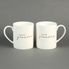 Bambino 2 Mug Gift Set - New Grandma and Grandad