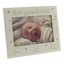 "Bambino Photo Frame 6""x 4"" - First Grandchild"
