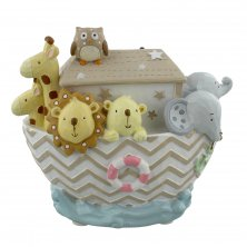 Noah's Ark Boat Money Box
