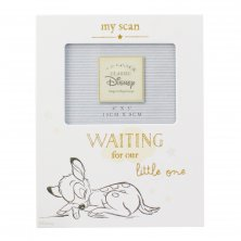 Disney Magical Beginnings Baby Scan Photo Frame - Bambi
