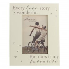 "Amore MDF Photo Frame ""Every Love Story"""