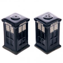 Novelty Police Box Salt & Pepper Set