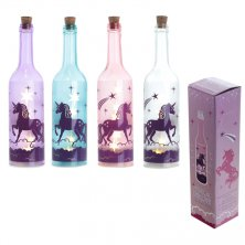Unicorn LED Light Glass Bottle Decoration