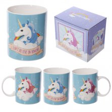 Enchanted Rainbows Unicorn Bone China Mug