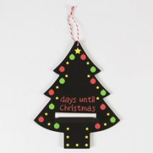 Days until Christmas Chalkboard Coloured