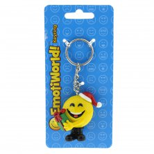 Emoti World Christmas Emoji Keyring Present