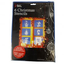 Christmas Stencils 6 pack
