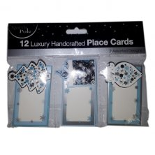 Handcrafted Luxury Place Cards 12 Pack