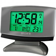 Cuba Radio Controlled & Smartlite Digital Alarm Clock