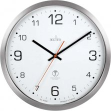 Acctim Atomik Radio Controlled Sweep Wall Clock