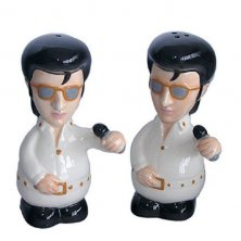The King Elvis Salt and Pepper Pots