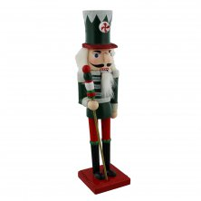 Merry & Bright Nutcracker with Baton