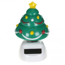 Solar Powered Christmas Tree Flip Flap