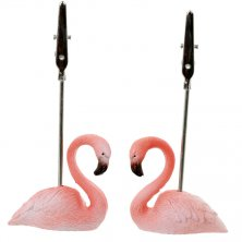 Flamingo Clip Memo/Card Holder