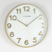 Hometime Sweep Wall Clock Gold 30cm