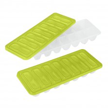 Metaltex Ice Cube Trays With Lids 2 Pack