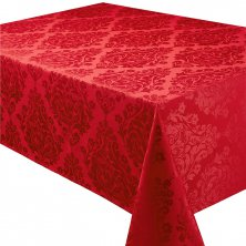 Palazzo Cotton Rich Red Tablecloths