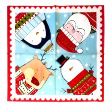 25 Pack Christmas Napkins