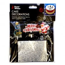 Christmas Cake Decorations & Frill