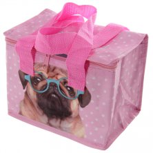 Pug Insulated Lunch Bag