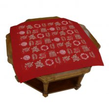 Merry Christmas Printed Table Topper