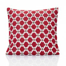 "Red Berkeley 18"" Cushion Cover"