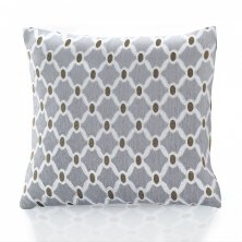"Silver Berkeley 18"" Cushion Cover"