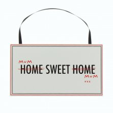 Anon sense Wall Plaque - Home Sweet Home