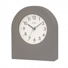 Acctim Brondby Arch Mantel Clock - Grey