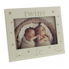 Bambino Photo Frame - Twins